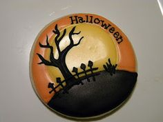 Awesome Halloween Cookie