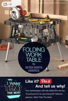 Help us pick the top products for DIYNetwork's I Want That the Most >> http://www.diynetwork.com/tv-shows/40-top-products-from-i-want-that-season-three/pictures/index.html?soc=pinterest