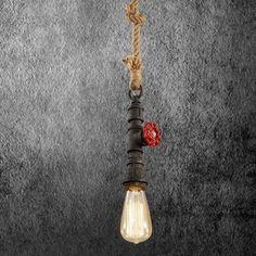 Kreatívne lanové závesné svietidlo v tvare priemyselného potrubia v čiernej farbe Sconces, Wall Lights, Led, Lighting, Home Decor, Cluster Pendant Light, Chandeliers, Appliques, Decoration Home