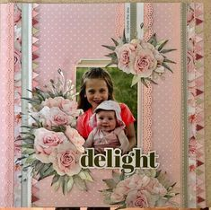Kids Scrapbook, Scrapbook Page Layouts, Scrapbook Pages, Altamonte Springs, Project Life, Scrapbooks, Roses, Lily, Decorations