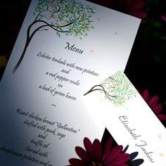 Midsummer Wedding Menu Card Wedding Dreams, Dream Wedding, Dream Party, Wedding Menu Cards, Garden Of Eden, Midsummer Nights Dream, Name Cards, Claire, Stationary