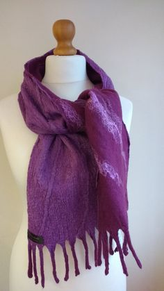 Check out this item in my Etsy shop https://www.etsy.com/uk/listing/268776515/felted-scarf-autumn-accessory-for-women