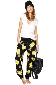 Joyrich Bart Face Crew Sweatpants