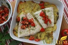 Wildtree's Scampi Baked Fish Recipe - www.mywildtree.com/simpleandhealthy