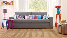 Inspiração sofá cinza