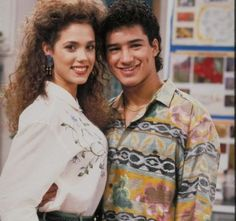 saved by the bell, Slater and Jessie <3