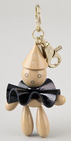 So cute! I want this Chloe purse charm!