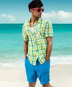 Tham khảo cách Mix quần short nam từ H&M