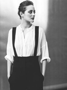 Marion Cotillard Gentlewoman / Smart smoking