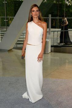 Alessandra Ambrosio looking all goddess-like at the CFDA Awards