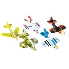 Amazon.com: Foam Glider Assortment (Pack of 72): Toys & Games
