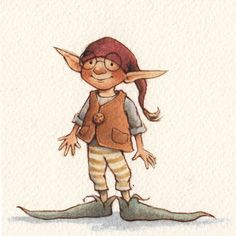 A Fairy Painting A Day: elf