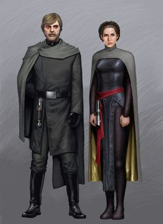 Dark Leia and Luke by Jedi-Art-Trick << this would also be a cool jedi outfit! Star Wars Fan Art, Star Wars Concept Art, Images Star Wars, Star Wars Characters Pictures, Star Wars Pictures, Star Wars Jedi, Rpg Star Wars, Darth Revan, Star Wars Brasil
