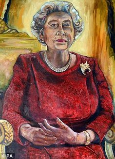 Dan Llywelyn Hall's expressionist-style painting of the Queen generated strong views among...