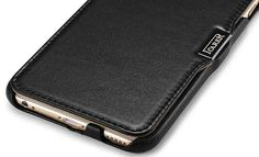 iCarer iPhone 6 Plus/ 6S Plus Side open Luxury Series Genuine Leather Wallet Stand Case Cover