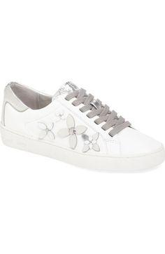 MICHAEL MICHAEL KORS Lola Flower Sneaker (Women). #michaelmichaelkors #shoes #