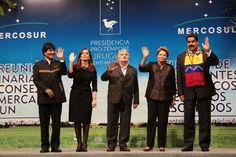 Venezuela asumid le presidencie de un Mercosur indignant