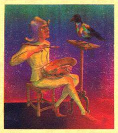 Caricatura publicata in almanahul PERPETUUM COMIC '97 editat de URZICA, revista de satira si umor din Romania
