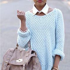 Blue jumper