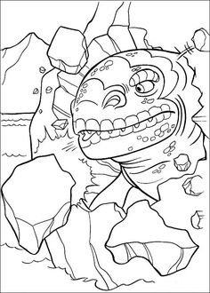 Ice age coloring page 43 Ice age coloring book Pinterest Ice