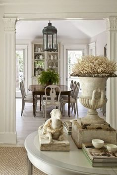Lasting French Country Dining Room Ideas (60)