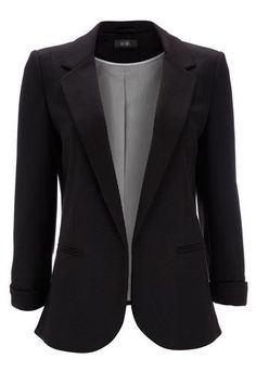 chic black blazer for work or play #currentlyobsessed