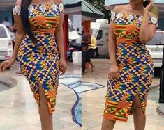 Benedicta gafah african print dress African print dresses for graduation can come in all designs. The kente styles, ankara styles, African print jumpsuits, even a well designed kaba and slit. Ankara Short Gown Styles, Kente Styles, Latest African Fashion Dresses, African Print Dresses, African Dresses For Women, African Print Fashion, African Attire, Ankara Gowns, Ankara Fashion