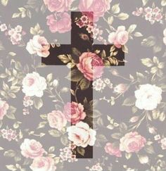 Image about love in Christ, by victoria . ♡ on We Heart It Jesus Wallpaper, Cross Wallpaper, Flower Wallpaper, Wallpaper Backgrounds, Iphone Wallpaper, Kawaii Wallpaper, Cross Pictures, Jesus Pictures, Christian Wallpaper