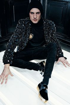 Balmain Fall 2015 Menswear - Collection - Gallery - Style.com
