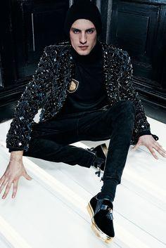 Balmain Fall 2015 Menswear - Collection - Gallery - Style.com