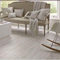 Karndean Knight Tile White Painted Oak Vinyl Flooring Tiles - Every Floor Direct