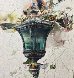 👉🏻 to see more ❗️. _______________________________________ Watercolor by Xi Guo… Watercolor Print, Watercolor Illustration, Watercolor Paintings, Watercolours, Watercolor Architecture, Scary Art, Art Sketchbook, Animal Paintings, Art Tutorials