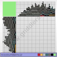 Griddlers Puzzle 175321 Lego Boba Fett