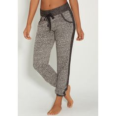 maurices Jogger Sweatpant With Stud Embellished Pockets ($20) ❤ liked on Polyvore featuring activewear, activewear pants, grey, plus size sportswear, sweat pants, plus size sweatpants, womens plus size activewear and jogger sweatpants
