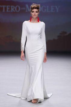 Maggie Sottero 2020 Wedding dresses: trendy creations for modern women Wedding Dress Necklace, Strapless Lace Wedding Dress, Maggie Sottero Wedding Dresses, Wedding Dress Trends, Black Wedding Dresses, Bridal Wedding Dresses, Bridal Style, Amazing Wedding Dress, Bridal Fashion Week