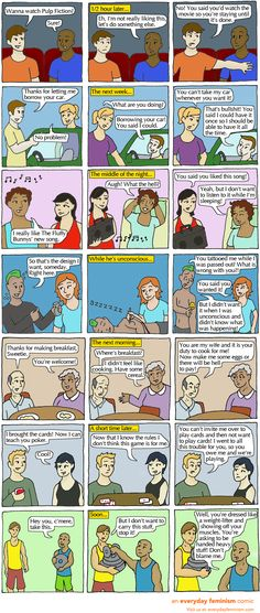 sexual consent. This cartoon is a great reminder of the much needed end to rape culture. No matter what gender you are, if you say no the it's no.