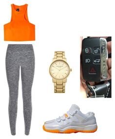 """""""A day out"""" by niah-hamilton on Polyvore featuring NIKE, Dsquared2, New Look and Topshop"""