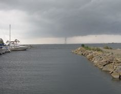 Water Spout at the TAFB Marina 7-4