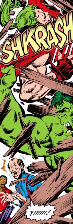 Hulk vs Doc Samson...
