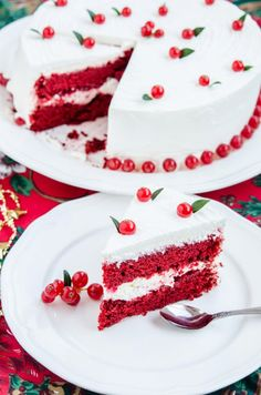 A classic Red Velvet cake with a mint twist and crushed candy cane! Perfect for Christmas! Red Velvet, Velvet Cake, Romanian Desserts, Valentine Cookies, Christmas Candy, Candy Cane, Vanilla Cake, Sweet Treats, Deserts