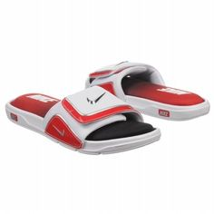 Nike Benassi Solarsoft Slide Black/Black/Sport Red/Sport Red ...