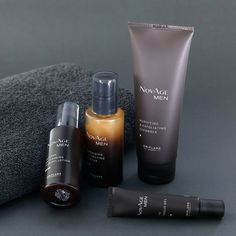 NOVAGE ROUTINE FOR MEN'S 👌👌🖤 To Keep your Skin Clean Healthy Spot less and EveNToNe From daily Pollution and fast life Stress.it helpful to remove anti aging signs and leave your Skin fresh And Young 👌👌 To order whatsapp 03454090030 Beauty Room, My Beauty, Natural Beauty, Oriflame Beauty Products, Oriflame Business, Cute Love Wallpapers, Perfume, Soap Making, Cleanser