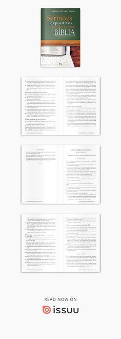 Sermões expositivos em todos os livros da Bíblia – Novo Testamento Esboços completos que percorrem todo o Novo Testamento. Ricos em ilustrações. Para ser usado em diferentes formas de aplicação: orientação para a pregação durante os cultos e roteiro para palestras na escola bíblica. Autor: Antônio Renato Gusso. Formato: 14x21.Número de páginas: 120. ISBN: 85.7459-224-4