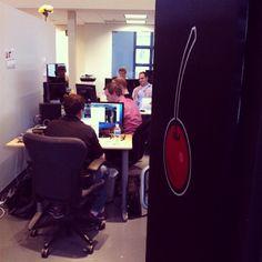 Research at its best! The #tastytrade team hard at work. http://instagram.com/tastytrade/ #tastygram #optionstrading #stockmarket #finance