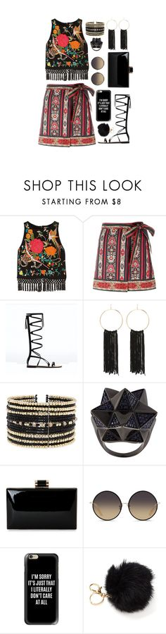 """Summer Date"" by alynncameron ❤ liked on Polyvore featuring Alice + Olivia, Étoile Isabel Marant, Bebe, Eloquii, John Brevard, Matthew Williamson, Casetify, summerdate and rooftopbar"