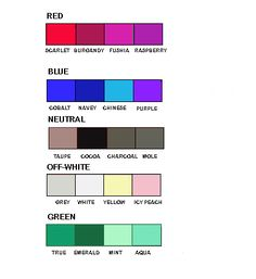 what colors to wear that flatter your skin tone if you're a winter. Dark hair & deep colored eyes