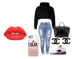 """""""@ari-11 hacked"""" by bigdaddymaddi on Polyvore featuring Jordan Brand, Casetify, Givenchy and Lime Crime"""