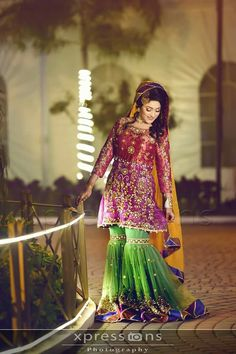 Will customise according to customer demand . Pakistani Wedding Outfits, Pakistani Wedding Dresses, Bridal Outfits, Pakistani Mehndi Dress, Bridal Mehndi Dresses, Shadi Dresses, Bridal Makeover, Indian Designer Wear, Traditional Dresses
