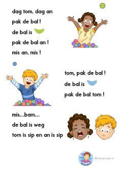 dag tom, dag an, verhaaltje voor kleuters die beginnen te lezen, kleuteridee.nl