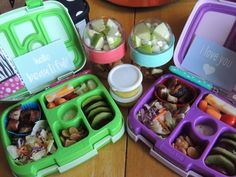 Bento Bentgo Kids School Lunch Ideas 9/216 Boneless Pork Ribs Salad Carrots/Tomatoes/Cucumbers w/ ranch Cheese Kiwi & Plums Strawberry Shortcake Crackers